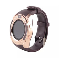 Wholesale New Arrival Colors V8 Smart Watch Phone Bluetooth IPS HD Full Circle Display MTK6261D Smartwatch VS GT08 DZ09