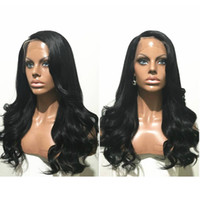 Wholesale Beyonce Brazilian Body Wave - Stock 8-26inch Glueless Brazilian Hair Wigs Wet Wavy Beyonce Lace Front Wigs With Baby Hair and natural hairline