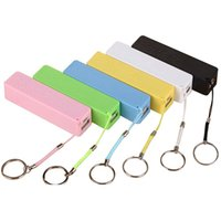 Wholesale Mini Charger Iphone Battery - Mobile charger power bank Mini USB Portable Charger backup battery charger for iPhone HTC samsung univeresal smartphone