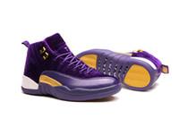 baskets de basket en ligne achat en gros de-Chaussure de basket-ball pas cher pour homme 12 XII 12s chaussures de running pour hommes vente au chaud designer pas cher Sport Tennis Sneakers en ligne avec boite