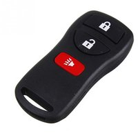 Barato Transmissor De Carro Chave Fob-2017 Top Quality 3 Button Remote Auto Car Key Case Keyless Entry Fob Transmissor Clicker Beeper Alarme para Nissan