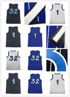 Wholesale H Logo - 2017 Cheap sales Men Mesh h y #1 M y #1 Basketball jersey High quality S e O' l #32 jerseys 100% stitched Embroidery Logos free shipping