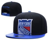 Wholesale rangers sports - 2018 Snapback Hats New York Rangers Baseball Caps Hip Hop Rangers Ice Hockey Sport Team Vegas Golden Knights Caps Adjustable Free Shipping