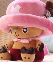 Wholesale Anime Dolls For Sale - Hot sale 30cm Joe and Tony Plush Toy Anime Cartoon One Piece Tony Chopper Plush Stuffed Toy Doll for Valentine Birthday Gift
