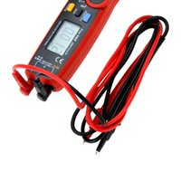 Wholesale Ball Units - Clamp multimeter Universal meter handhold digital multimeter LCD Dispaly DC AC V A uF Hz Ohm UNIT UT210E