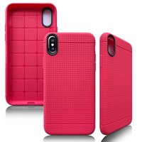 Wholesale Iphone Wallet Dot - Luxury Ultra Thin Honeycomb Dot Soft TPU Phone Case Cover for iphoneX 8 7plus 6 6S plus iphone5 S Samsung S7 EDGE S8 plus Protective shell
