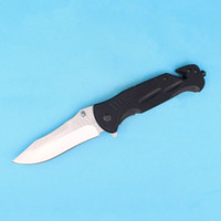 Wholesale Fast Butterfly - Promotion Butterfly DA57 Survivla Flipper folding knife Outdoor tactical FAST OPEN knife Drop point blade G10 Handle with Original box