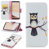 Wholesale a5 book - 10PCS Book magnetic Case For Galaxy S8 S8plus S7 S7edge 3D cartoon wallet case for S6 S6edge A3 A5 J3 J5 J7 2017