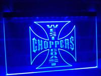 Wholesale Choppers Bike - LG202b- West Coast Choppers Bike Logo LED Neon Light Sign