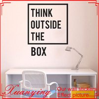 Wholesale Inspirational Quotes Wall Stickers - Inspirational Motivational Quotes Office Wall Decal Art Decor Wall Stickers Home Decor Living Room Paredes Mural
