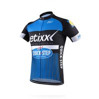 Breathable sport steps - 2017 Quick step etixx Tour de France men Cycle Clothes pro team sport shirt Short sleeve cycling jersey Bike ropa maillot ciclismo C1005