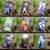 Wholesale Hatsune Miku Purse - 2016 Hot Sale Anime Hatsune Miku, One Piece, Hitman Reborn, Totoro, Date A Live etc Colorful Long Portable Wallet Cell Phone Clutch Purse