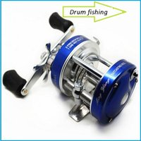 Wholesale Fishing Reels Ship - All metal drum fishing vessel CL40 drum thunder fish fishing bait ship wheel type fishing reel out217