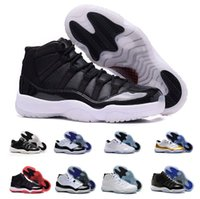 Wholesale Purple Teal - Air Retro 11 men women Basketball Shoes Space Jam 11 white black grey teal Retros 11s Trainers Mens Sneakers size 5.5-13