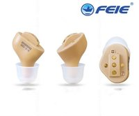 Wholesale usb sound amplifier - USB charger CIC in ear unnoticed hearing aid rechargeable sound amplifier S-51 Elderly Hearing Loss free shipping