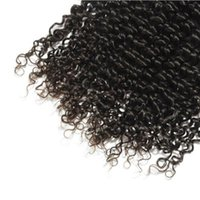 Wholesale Spiral Curly Brazilian - Brazilian Spiral curly virgin hair weaving 3 bundles with closure human hair with lace closure swiss lace hair products