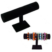 Wholesale 23cm x cm velvet bracelet display jewelry showing room tool stands row bracelet bangle watch jewelry display stand