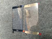 montage montieren großhandel-20PCS Soem-vorderes äußeres Glasobjektiv mit dem OCA-Film installiert Vorzusammenbau für Samsung-Galaxie-Anmerkung 5 N920 N920T GEGEN N920V N920P Erneuerungsteil