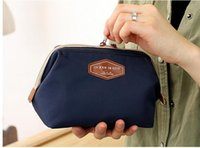 Wholesale Cluth Purse Wholesale - Ladies Cluth Women Organizer Bag BAG Nylon Waterproof Travel Cosmetic Purse Wallets for Woman cosmetic bags