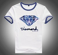 Wholesale Diamond Supply Cheap - S=5XL Free Shipping PA671K Brand Cheap 20 styles DGK Diamond Supply T-Shirts quality short sleeve tops