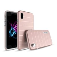 Dual Layer Hybrid Hard Silikon + TPU 2 in 1 Back Covers Shockproof Slim Armor Case für iPhone X 8 8 Plus