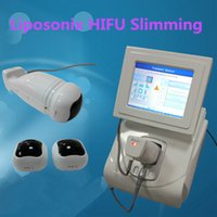 Wholesale Cellulite Body Slimming Treatments - New Model liposonix machine body slimming system weight loss treatment cellulite removal 576 points Standard cartridge 0.8cm 1.3cm