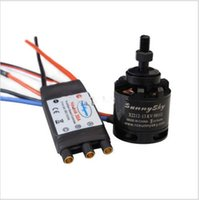 Wholesale Sunnysky Brushless - Sunnysky X2212-13 980KV Brushless Motor & SimonK 30A ESC for Multicopter Quad-X
