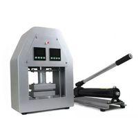 Wholesale Semi Automatic Heat Press Machine - New arrived 20Ton Manual Hydraulic Rosin Heat Press Dual heat plates Rosin dab press machine