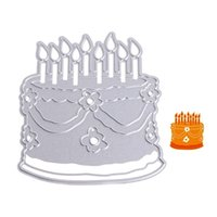 Wholesale Stencils Cakes - Cake Metal Cutting Dies Stencil DIY Scrapbooking Album Paper Card Embossing Craft Gift