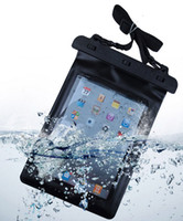 Wholesale Tablet Sleeve High Quality - Black 100% Waterproof Tablet Pouch Dry Bag Sleeve Case High Quality Protection Carrying Bag For iPad Tablet Electronic Gadget Accessory