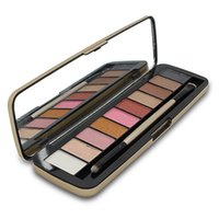 Wholesale Eyeshadow For Sale Wholesale - 2017 Hot Sale 7 Versions Eye Shadow Palette Iron Box 12 For Good Makeup 12 Colors Eyeshadow Palette Iron Box Kyshadow Free Shipping