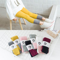 Wholesale Lolita Socks - New Fashion Spring Summer Kids Children Toddler Popular Socks Popular Baby Girls Princess Mixed color Cotton Ankle length Leggings 1-8 years