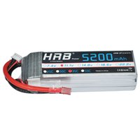 Wholesale Hrb Battery - HRB Lipo Battery 3S 11.1V 5200MAH 35C RC Car Lipo Battery for RC Quadcopter Helicopter Boat Car