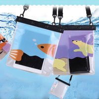 Wholesale Cell Phone Envelope Cases - Wholesale- Underwater Sealed Pouch PVC Bag Pack Dry Case Cover For Cell Phone Under 5.5 Inch New Arrival