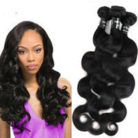 Brazillian Body Wave Bundles Virgin Human Hair Weaves Wefts 8-34