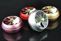Wholesale Vent Air Freshener - Metal Car Air Conditioner Outlet Vent Clip Mini Fan Aircraft Head Air Freshener Perfume Fragrance Scent inner Aromatherapy