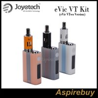 Wholesale Ego Support - Clearcance!Joyetech Evic-VT Kits eVic VTwo Version 60W eVic VT Mod With Ego One Mega 4ML Supports RTC VW VT Bypass TCR Modes 100% Original