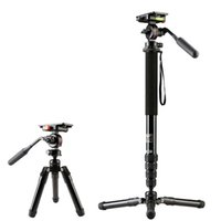 Compra Treppiedi Professionale Di Weifeng-DHL gopro Weifeng hj-3451a fotocamera professionale monopod hj3451a tripode smorzamento all'ingrosso
