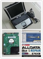 Wholesale Honda 4g - 2017 Newest Auto Repair all data mitchell on demand 2015+ alldata v10.53 2in1 car diagnostic laptop software in cf19 4G toughbook