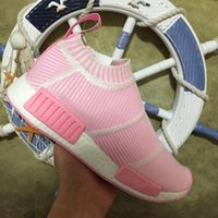 Wholesale Shop Cheap Kids Shoes - 2017 new Cheap hot NMD City Sock sale Online For kids Sport Shoes children free shopping