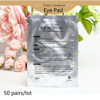Wholesale Moisturizing Eye Patches - Thinkshow 100pairs lot False Eyelashes Tool Eye Pads Hydrogel Eye Patches Moisturizing Face Mask Fake Lashes Augenklappen