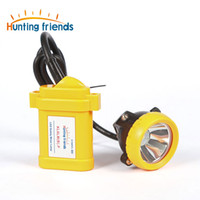 Wholesale Miners Cap Lamps - Safety Miner Lamp KL6LM(B).P LED Miner Cap Lamp Mine Light Lithium Battery Headlamp Explosion Rroof Headlight