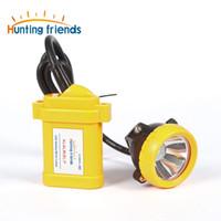 Wholesale miners headlights - Safety Miner Lamp KL6LM(B).P LED Miner Cap Lamp Mine Light Lithium Battery Headlamp Explosion Rroof Headlight
