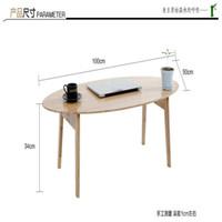 móveis eco venda por atacado-Multipurpose Eco-friendly Mesa de chá de Bambu Mesas Laterais Dobrável Lazer Tatami Mesas de Café Mobiliário de Sala de estar