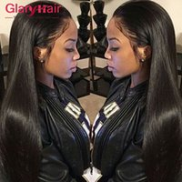 Morceaux De Cheveux Réels Bon Marché Pas Cher-Real Unprocessed Virgin Malais Straight Hair Weaves Cheap Remy Human Hair Extensions Mink Brazilian Peruvian Malaysian Hair Bundles Weft