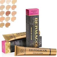 Wholesale Dc Color - Dermacol Concealer Dermacol Makeup Cover Dermacol Base Makeup Cover 30g Primer DC Concealer Base Professional Face Foundation