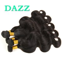 Wholesale beauty supply hair weave for sale - Group buy DAZZ Beauty Mink Brazilian Virgin Hair Body Wave Hair Extensions Wet And Wavy Remy Human Hair Weave Bundles Wefts Factory Supply