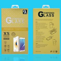 Wholesale Iphone Mobile Box - Paper Packaging Package Retail Box with hanger For iphone 7 6 5s samsung Mobile phone tempered glass screen protector
