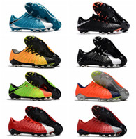 Wholesale Cheap Gold Ankle Boots - Low Ankle Hypervenom Phantom III FG Soccer Cleats Neymar Boots Hypervenoms ACC High Quality Mens Football Boots New Cheap Soccer Shoes 2017