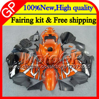 Wholesale Hayabusa Bodies - Body For SUZUKI Hayabusa GSXR1300 96 07 2002 2003 2004 41GP53 Orange blk GSX R1300 GSXR-1300 GSXR 1300 2005 2006 2007 Motorcycle Fairing